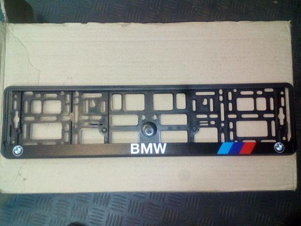 Рамка номерная БМВ М/// Мерседес Опель Ауди рамки для номерів BMW Борисполь - изображение 5