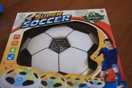 Детский электрический футбольный мяч Hoverball Черно-Белый (Fly Ball)