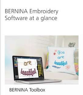 Bernina Bernette Deco 340plus and Bernina Software Toolbox