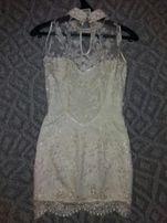 Вечернее платье, красивое французское кружево