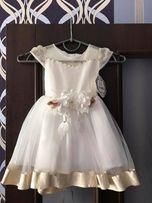 Нарядна пишна святкова сукня платье нарядное пышное