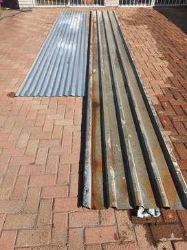 Second hand IBR roof sheeting