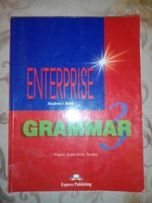 Książki Enterprise 1 i 2 (j. angielski) + grammar 3, workbook 2