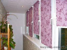 Жалюзи горизонтальные и вертикальные, ролеты римские и рулонные шторы