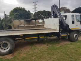 HINO WITH CRANE FOR SALE!!!