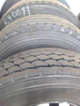 12R good second hand truck tyres
