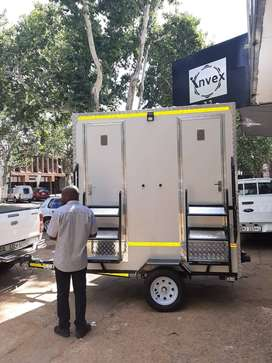 mobile VIP toilet ,mobile fridges, cold rooms  and mobile kitchens