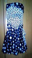 Выпускное платье, вечернее платье, горох