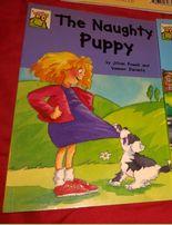 книга детская английский язык The naughty puppy Jillian Powell Пауэлл