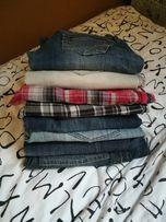 Paka 8 par spodni szortów jeansów damskich stan idealny okazja