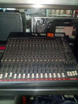Phonic sonic station 16  channel mixer 127Oct19