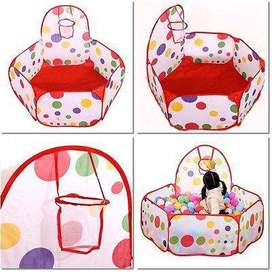 Outdoor/indoor Foldable Kids Portable Basketball Pit Pool Toy