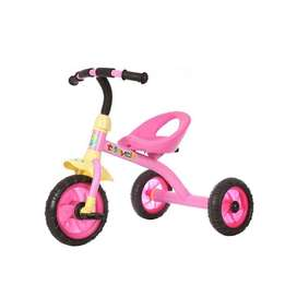 Ideal Toy Tricycle T-Bar (Pink) - [Brand new & boxed]