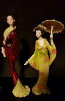 Две статуэтки в восточном/ японском стиле