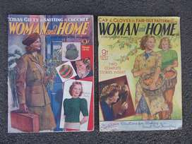 Vintage Women & Home Magazines - 1941 - 1943
