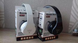 Słuchawki bezprzewodowe bluetooth nauszne microSD Mp3 NOWE BiałeCzarne