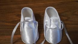 Nowe buciki do chrztu