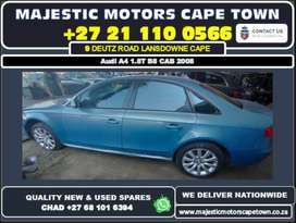 Audi A4 1.8T B8 CAB 2008 used spare parts for sale.