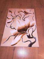 Obraz magnolia ręcznie malowany na płótnie