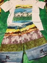 Пляжные шорты и футболка TERMIT.