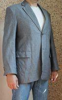 Мужской пиджак Umberto Rosetti ( Италия ) лён / хлопок р-р 50