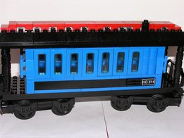 lego Passenger Wagon Blue
