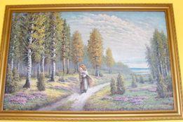 Oryginalny Obraz ręcznie malowany na płótnie 70x103
