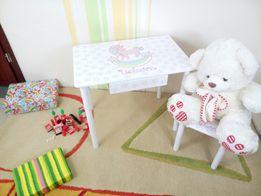 Детский столик с Единорогом (от 1 до 6 лет) стол и стул (варианты)
