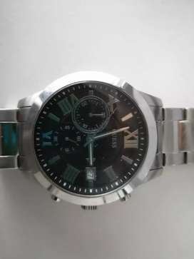 Guess Atlus silver watch