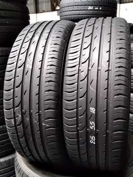 215/55/18 continental tyres