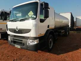2015 Renault 380 dxi 18 000 litre water tanker for sale