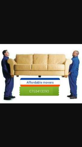 Affordable movers free quote..