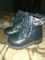 Пргдам зимние ботинки для девочки