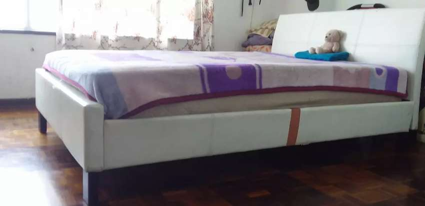 Double Bed with Headboard 0