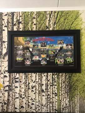 Rugby world cups legends framed 1 of 20 limited edition