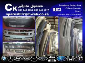 Bumpers for sale for most vehicles make and models.
