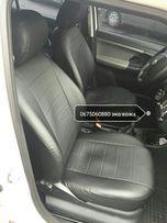 Чехлы на сиденья из эко кожи на Шкоду ,Мерседес Е 210,BMW Е39 ,и др.