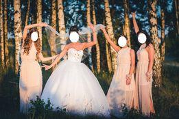 OKAZJA! suknia ślubna księżniczka, gorset, suknia princessa
