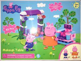 Klocki Świnka Peppa Makeup Table 83 elem. Zabawka