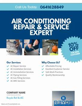 Air-conditioning Services & Repairs