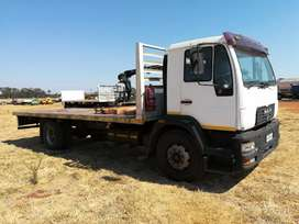 MAN 220 Flatbed Neat Original