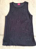 bluzka tunika grafitowa szara M40/42 Orsay sinsay H&M