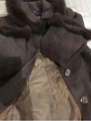 Зимнее шерстяное пальто S Киев - изображение 5