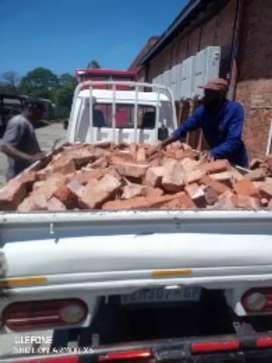 Rubble removal and furniture removal and also stump removal