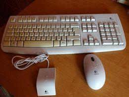 Продам безпроводную клавиатуру и мышку Logitech Deluxe 650