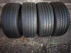 A set of new tyres sizes 225/45/18 continental run flat now available
