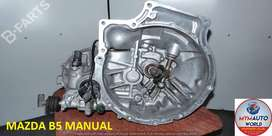 IMPORTED USED MAZDA B5 MANUAL CABLE GEARBOX FOR SALE AT MYM AUTOWORLD