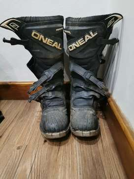 O'Neal size 8 dirt bike boots