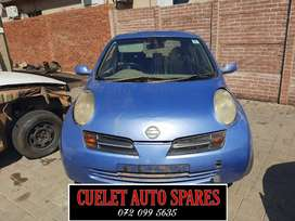Nissan Micra Stripping For Parts And Accessories