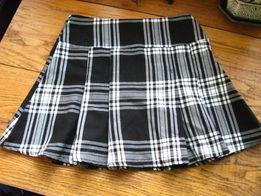 модная школьная юбочка